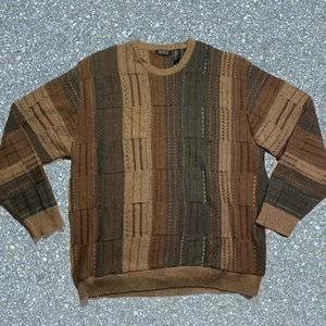 Segreo 100% wool made in Italy crew neck sweater
